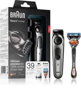Braun Beard Trimmer BT7020 Hair And Beard Clipper + Sleeve