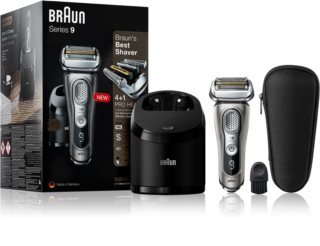 Braun Series 9 9365cc Graphite with Clean&Charge System  planžetový holicí strojek