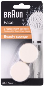 Braun Face 80-b Beauty Sponge tête de rechange 2 pcs