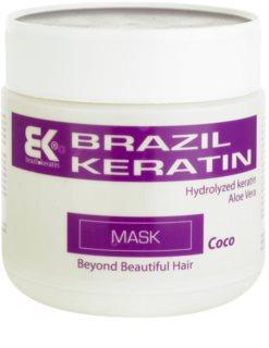 Brazil Keratin Coco μάσκα κερατίνης για κατεστραμμένα μαλλιά