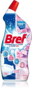 Bref Hygienically Clean & Shine Gel Floral Delight detersivo per WC