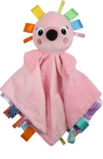 Bright Starts Cuddle'n Tags mazlicí dečka 0 m+ Flamingo