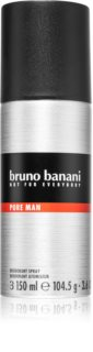 Bruno Banani Pure Man Spray deodorant til mænd