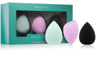 BrushArt Face Sponge set Makeupsvamp 3 stk