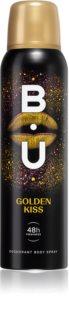 B.U. Golden Kiss deodorante spray da donna