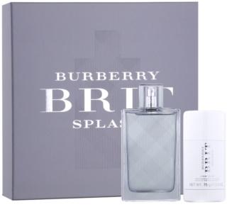 Burberry Brit Splash confezione regalo III. per uomo