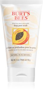 Burt's Bees Peach & Willow Bark exfoliante de limpieza profunda