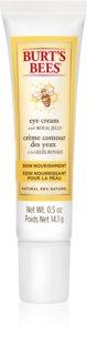 Burt's Bees Skin Nourishment crema hidratante para contorno de ojos antiarrugas y antiojeras