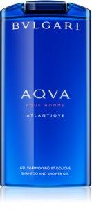 Bvlgari AQVA Pour Homme Atlantiqve gel de duche para homens