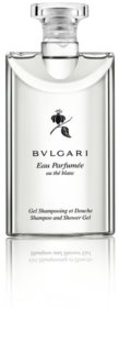 Bvlgari Eau Parfumée au Thé Blanc душ гел за тяло и коса унисекс