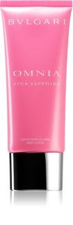 Bvlgari Omnia Pink Sapphire lait corporel pour femme