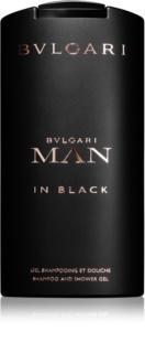 Bvlgari Man in Black gel de duche para homens