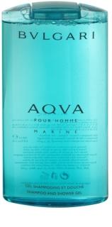 Bvlgari AQVA Marine Pour Homme gel de douche pour homme