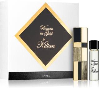 By Kilian Woman in Gold eau de parfum utazási csomag hölgyeknek