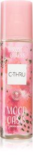 C-THRU Mood Oasis Rose Caress Refreshing Body Spray for Women