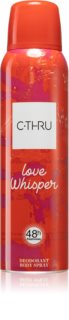 C-THRU Love Whisper Deodorant