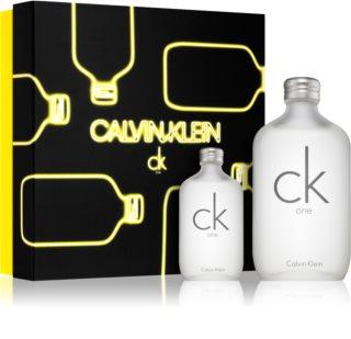 Calvin Klein CK One coffret cadeau I. mixte