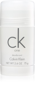 Calvin Klein CK One déodorant stick mixte