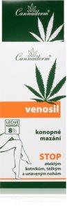 Cannaderm Venosil hemp pain relief cream Cannabis olie Til hjælp mod stivhed i benene