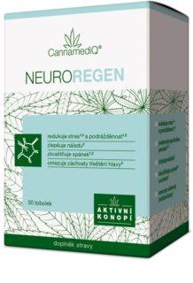 CannamediQ Neuroregen doplněk stravy pro psychickou pohodu, klidný spánek a proti třeštění hlavy