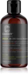 Canneff Green CBD Gentle Shampoo Regenierendes Shampoo für glänzendes und geschmeidiges Haar
