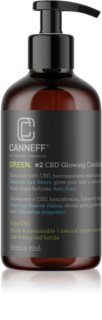 Canneff Green CBD Glowing Conditioner condicionador anti-frizz