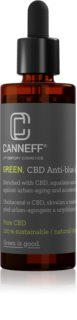 Canneff Green CBD Anti-Blue Light Serum siero all'olio per la rigenerazione della pelle