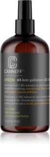 Canneff Green Anti-pollution CBD & Plant Keratin Hair Spray cuidado sem enxaguar para cabelo