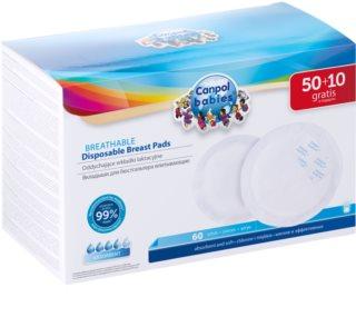 Canpol babies Breast Pads Standard jednorazové vložky do podprsenky