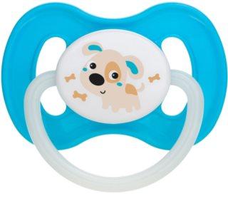 Canpol babies Bunny & Company 0-6m dudlík Turquoise