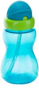 Canpol babies Sport Cup kids' bottle with straw 12m+ Blue