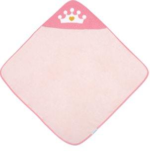 Canpol babies Royal Baby osuška s kapucí Pink