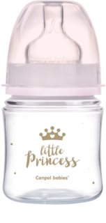 Canpol babies Royal Baby babyfles 0m+ Pink