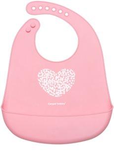 Canpol babies Pastels előke 4m+ Pink
