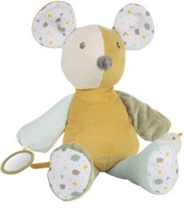 Canpol babies Mouse hebký mazlíček s pískátkem 0m+