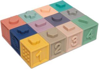 Canpol babies Small Toys měkké senzorické hrací kostky 6m+