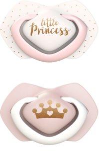 Canpol babies Royal Baby B 6-18 m dudlík Pink
