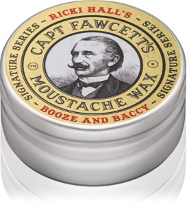 Captain Fawcett Ricki Hall´s cire pour moustache