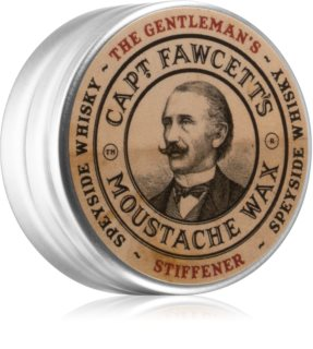 Captain Fawcett The Gentleman's Stiffener Speyside Whisky Schnurrbartwachs