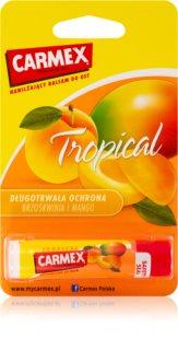 Carmex Tropical Fugtgivende læbepomade