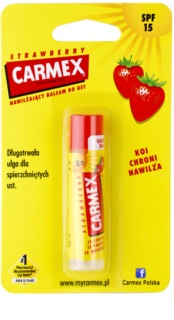 Carmex Strawberry Moisturising Lip Balm SPF 15