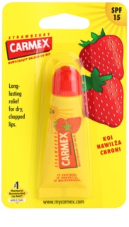 Carmex Strawberry Lippenbalsam in der Tube LSF 15