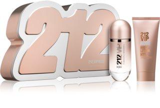 Carolina Herrera 212 VIP Rosé подарунковий набір IX. для жінок