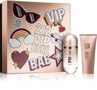 Carolina Herrera 212 VIP Rosé set cadou VI. pentru femei