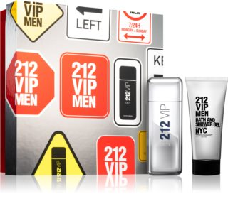 Carolina Herrera 212 VIP Men poklon set V. za muškarce