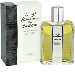 Caron Le 3 Homme Eau de Toilette for Men 125 ml