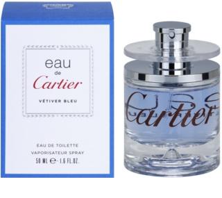 Cartier Eau de Cartier Vetiver Bleu toaletná voda unisex