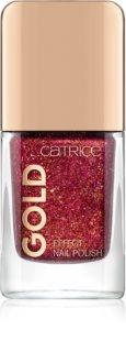 Catrice Gold Effect лак для нігтів з блискітками