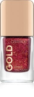 Catrice Gold Effect αστραφτερό βερνίκι για τα νύχια