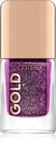 Catrice Gold Effect mieniący się lakier do paznokci